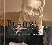 Play & Download Rubinstein Collection, Vol. 34: Brahms: Concerto No.1 in D Minor, Capriccio, Intermezzo, Rhapsody by Arthur Rubinstein | Napster