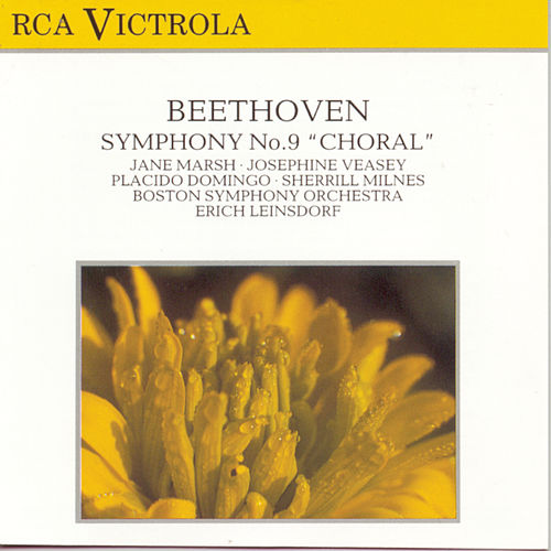 Beethoven: Symphony No. 9 by Erich Leinsdorf