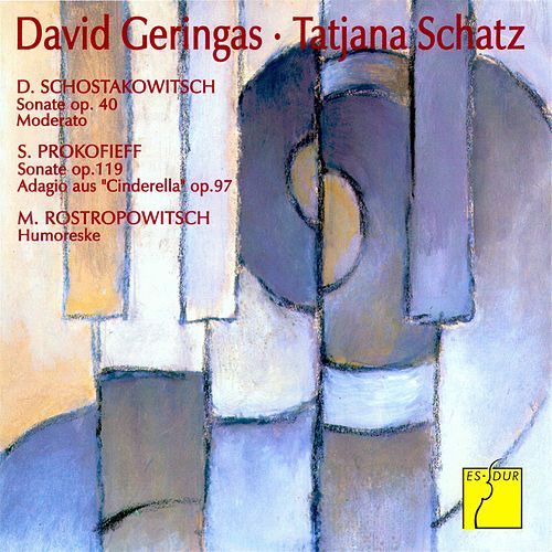Play & Download Shostakovich: Sonata, Op. 40; Moderato - Prokofiev: Sonata, Op. 119; Adagio, Op. 97Bis from Cinderella - Rostropowitsch: Humoresque, Op. 5 by David Geringas | Napster