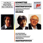 Play & Download Schnittke:  Concerto No. 2  for Cello and Orchestra, In memoriam...for Orchestra by Mstislav Rostropovich | Napster