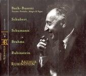 Play & Download Rubinstein Collection, Vol. 8: Bach-Busoni: Toccata; Schubert, Schumann, Brahms, Rubinstein by Arthur Rubinstein | Napster