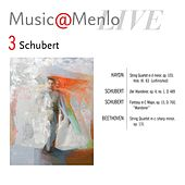 Play & Download Music@Menlo LIVE, Schubert, Vol. 3 by Various Artists | Napster