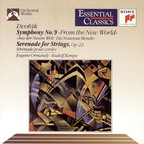 Dvorák:  Symphony No. 9 & Serenade for Strings by Various Artists