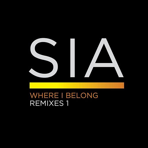 Where I Belong Remixes 1 by Sia