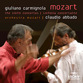 Mozart: The Violin Concertos; Sinfonia Concertante by Giuliano Carmignola