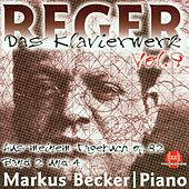 Play & Download Max Reger: Das Klavierwerk Vol. 9 by Markus Becker | Napster
