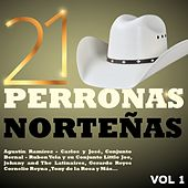 Play & Download 21 Perronas Norteñas, Vol. 1 by Various Artists | Napster