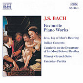 Favourite Piano Works by Johann Sebastian Bach