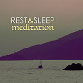 Rest & Sleep Meditation - Deep Sleeping Sounds, Falling Rain & Ocean Waves Ambience by Various Artists