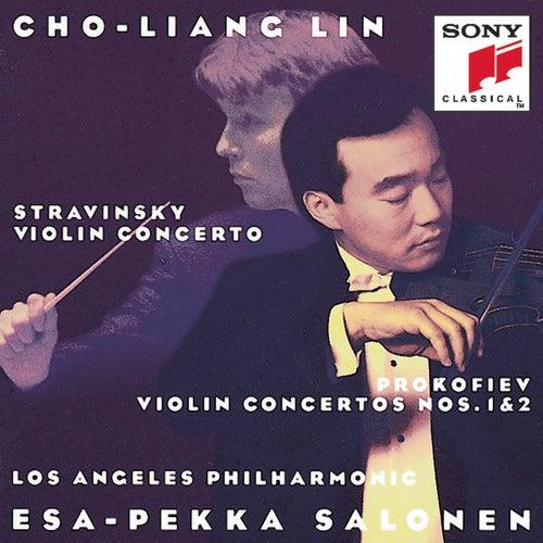Prokofiev: Violin Concertos 1&2; Stravinsky: Violin Concerto in D by Los Angeles Philharmonic Orchestra