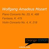 Orange Edition - Mozart: Piano Concerto No. 23, K. 488 & Violin Concerto No. 4, K. 218 by Various Artists