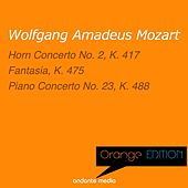 Orange Edition - Mozart: Horn Concerto No. 2, K. 417 & Piano Concerto No. 23, K. 488 by Various Artists