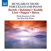 Cello Recital: Kosower, Mark - BARTOK, B. / DOHNANYI, E. / KODALY, Z. / LISZT, F. / (Hungarian Music for Cello and Piano) by Various Artists