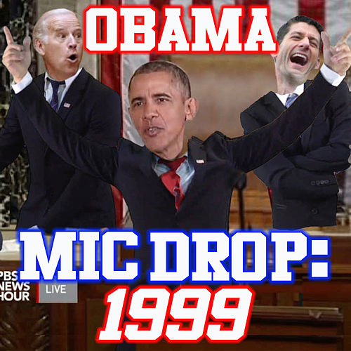 Play & Download Obama Mic Drop (1999) by The Gregory Brothers | Napster