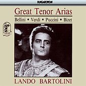 Play & Download Great Tenor Arias by Lando Bartolini | Napster