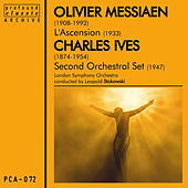 Play & Download Messiaen: L'ascension  & Ives: Second Orchestral Set by London Symphony Orchestra | Napster