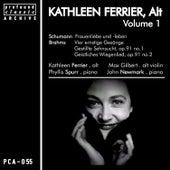 Kathleen Ferrier, Contralto, Vol. 1 by Kathleen Ferrier