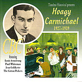 Hoagy Carmichael 1927-1939 by Various Artists