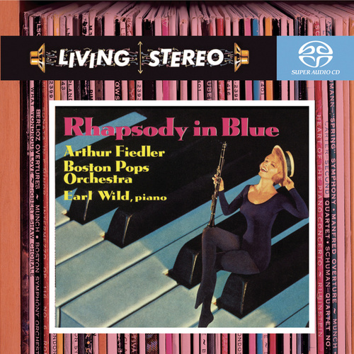 Gershwin: Rhapsody in Blue; Concerto in F; An American in Paris; Variations on 'I Got Rhythm' by Arthur Fiedler