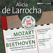 Play & Download Mozart & Beethoven: Piano Concertos by Alicia De Larrocha | Napster