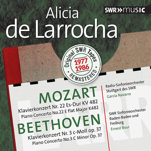 Play & Download Mozart & Beethoven: Piano Concertos by Alicia De Larrocha | Napster