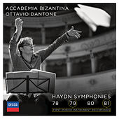 Play & Download Haydn: Symphonies 78, 79, 80, 81 by Accademia Bizantina | Napster