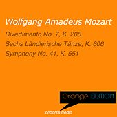 Play & Download Orange Edition - Mozart: Divertimento No. 7, K. 205 & Symphony No. 41, K. 551 by Various Artists | Napster