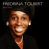 Recital von Fredrina Tolbert
