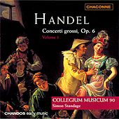 Play & Download HANDEL: Concerto Grossos, Op. 6, Vol. 1 by Simon Standage | Napster