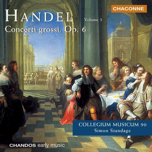 HANDEL: Concerto Grossos, Op. 6, Vol. 3 by Simon Standage