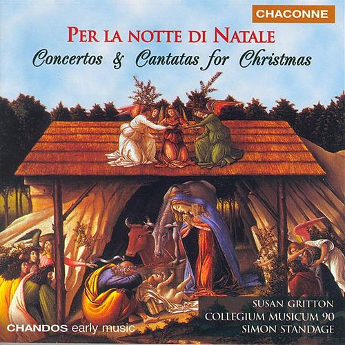 Concertos and Cantatas For Christmas by Various Artists