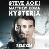 Hysteria (Remixes) by Steve Aoki