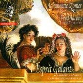 l'Esprit Galant - Boësset, Gautier, Pinel, Lambert, et al. von Johannette Zomer