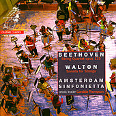 Beethoven: String Quartet in F Major & Walton: Sonata for Strings by Amsterdam Sinfonietta