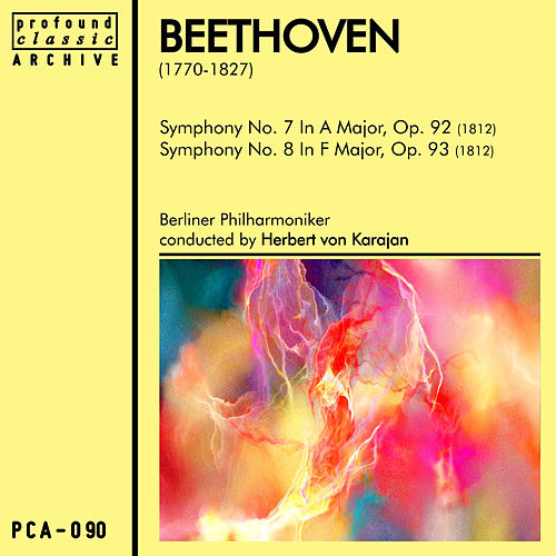 Beethoven Symphonies No. 7 & No. 8 by Berliner Philharmoniker