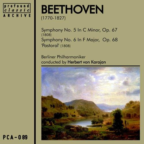 Beethoven Symphonies No. 5 & No. 6 by Berliner Philharmoniker