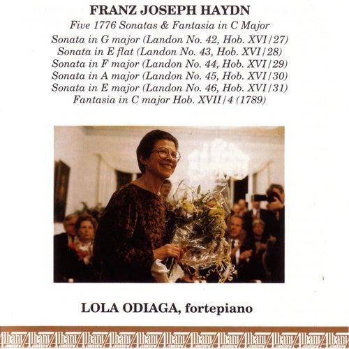 Play & Download Haydn 1776 Sonatas by Lola Odiaga | Napster