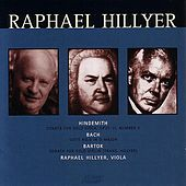 Raphael Hillyer Plays Hindemith by Raphael Hillyer