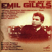 Play & Download Art of Emil Gilels, Vol. 5 (Live) by Emil Gilels | Napster