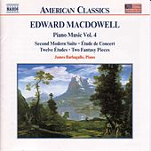 Piano Music Vol. 4 by Edward Macdowell
