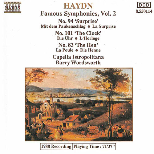 Play & Download Symphonies Nos. 83, 94 & 101 by Franz Joseph Haydn | Napster