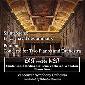 Play & Download Saint-Saëns: Le Carnaval des animaux / Poulenc: Concerto for Two Pianos and Orchestra by Lena Vozheiko-Wheaton | Napster