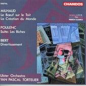 Play & Download POULENC: Les biches / IBERT: Divertisseent / MILHAUD: Le Boeuf sur le toit by Various Artists | Napster