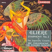 Play & Download GLIERE: Symphony No. 2 / The Zaporozhy Cossacks by Edward Downes | Napster