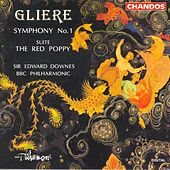 Play & Download GLIERE: Symphony No. 1 / The Red Poppy: Suite by Edward Downes | Napster