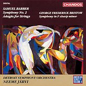 AMERICAN SERIES, Vol. 4 - BARBER: Symphony No. 2 / Adagio / BRISTOW: Symphony in F sharp minor by Neeme Jarvi