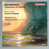 RACHMANINOV: Concerto Elegiaque / Variations on a Theme of Corelli / Vocalise by Various Artists