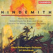 Play & Download HINDEMITH: Mathis der Maler / Concerto for Woodwinds, Harp and Orchestra / Konzertmusik, Op. 50 by Various Artists | Napster