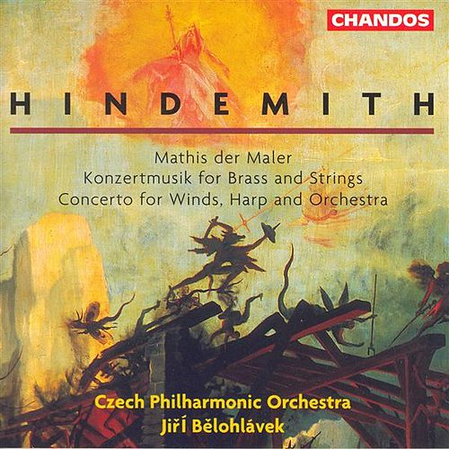 HINDEMITH: Mathis der Maler / Concerto for Woodwinds, Harp and Orchestra / Konzertmusik, Op. 50 by Various Artists