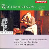 RACHMANINOV: Complete Songs, Vol. 3 by Various Artists